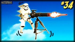 STAR WARS Battlefront - Unfortunate Moments #34 (Darth Vader Domination, Hovering Turret!)