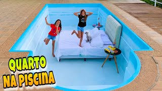 WE HAVE A ROOM IN OUR POOL - MILLENA AND MANU MAIA