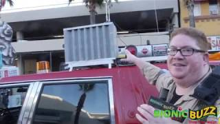 Mike Serot from The Hollywood Ghostbusters Interview at Hollywood Christmas Parade