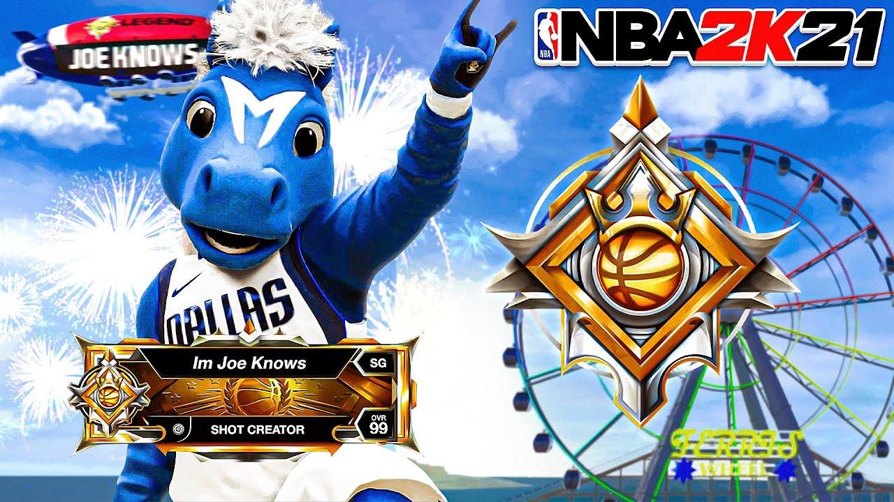 I PROMISED you guys LEGEND on NBA 2K21...