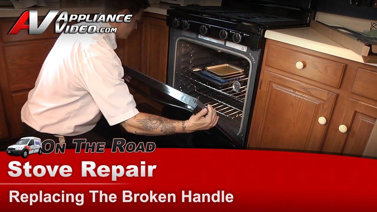 Exceptional Whirlpool Stove Repair   Broken Handle   WFG540H0AB0
