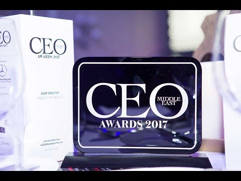 Colm McLoughlin wins CEO Middle East Lifetime Achievement award