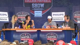 Week 4 Of The Barstool College Football Show Live From Wisconsin
