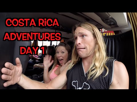 Costa Rica Day 1: Lori & Mitch's Adventures