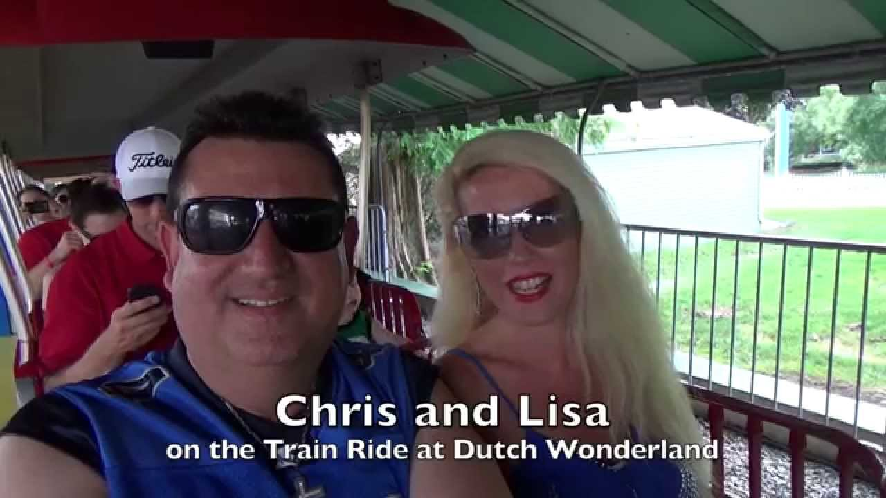 The Train Ride at Dutch Wonderland in Lancaster, PA