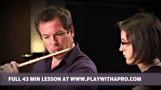 Flute lessons with Emmanuel Pahud, Masterclass no 5, Berio Sequenza