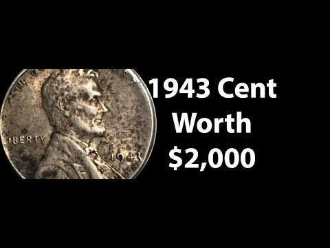 1943 Lincoln Cent Steel Penny Value - Do You Have A 1943 Silver Penny Worth $3,000?