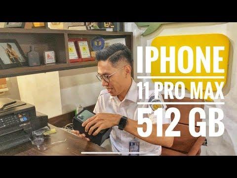 UNBOXING IPHONE 11 PRO MAX 512GB, HANDPHONE SULTAN!