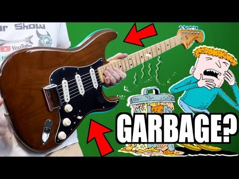 Stratocaster Guide Which Strat To Buy Model Comparison Fender >> What Is This Thing Review Demo 2017 Fender Parallel