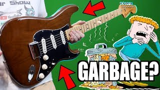 Download lagu Are 70s Strats Really Hot Garbage? | 1976 Fender Stratocaster Hardtail Mocha Brown | Review + Demo