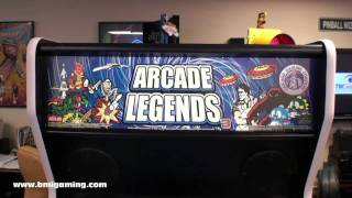 Arcade Legends 3 - Multigame Classic Video Arcade Game Machine - Bmigaming.com - Chicago Gaming