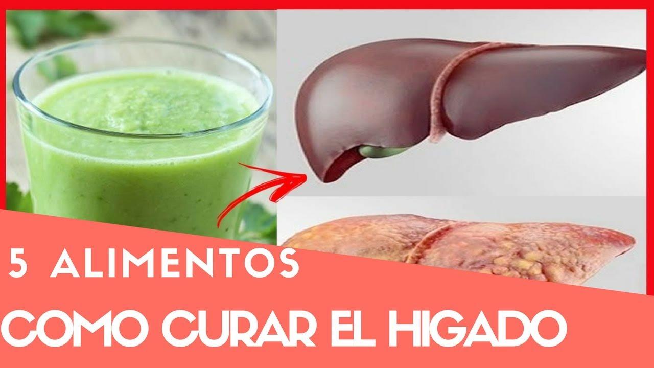 Dieta para curar un higado graso