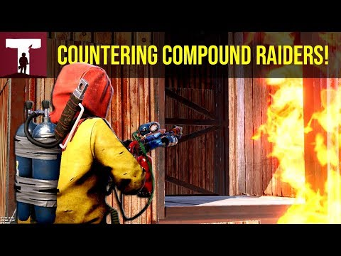 COUNTER RAIDING COMPOUND RAIDERS! (Rust) thumbnail