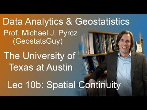 10b Data Analytics: Spatial Continuity