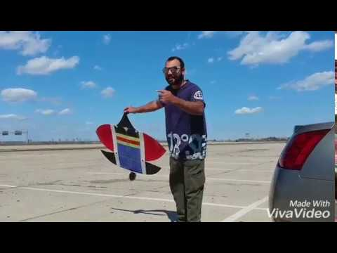 Patang bazi in USA - Bilal Bhai with Lahori kite Flyerz