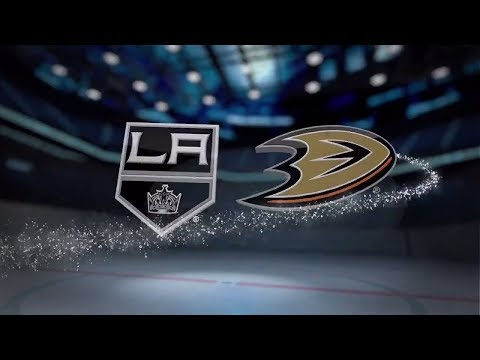 Los Angeles Kings vs Anaheim Ducks - November 02, 2017 | Game Highlights | NHL 2017/18. Обзор матча