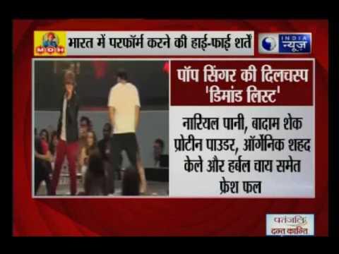 Justin Bieber India concert: List of 'demands' goes viral