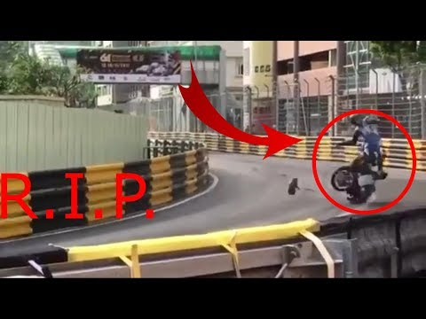 DANIEL HEGARTY DIES in MACAU GP | DANIEL HEGARTY MUERE en el GP de MACAO