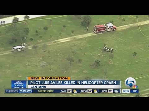 West Palm Beach pilot killed in Lantana helicopter crash