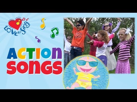 hey-baby-let's-rock-and-roll-with-lyrics-|-kids-action-song-|-love-to-sing