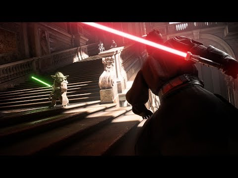 Star Wars Battlefront II Reveal Trailer Music Duel of the Fates Edit