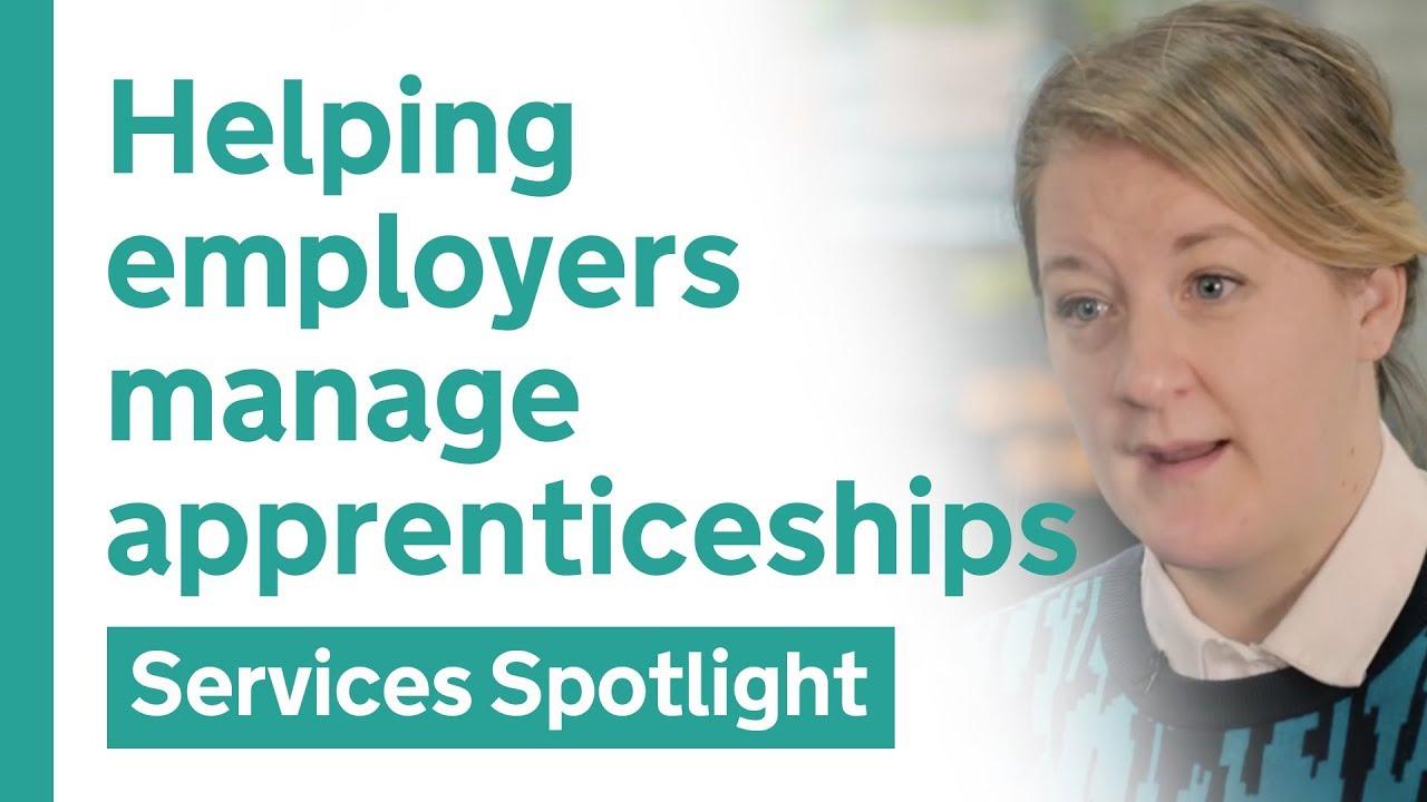 Managing apprenticeships on GOV UK