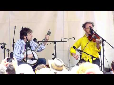 Bela Fleck and Casey Driessen - Elk's Park, Telluride Bluegrass Festival 2011