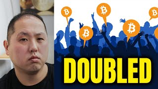 BITCOIN USERS DOUBLED TO 200M IN ONLY 6 MONTHS!