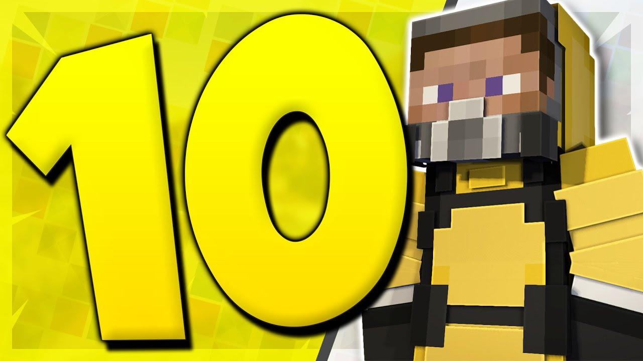 12 Yellow Minecraft Skins!