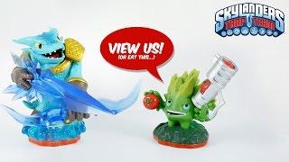 Skylanders Trap Team All Toy Figures unboxed