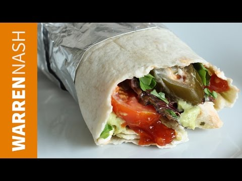 Mexican 60 second Lazy Lunches Wrap Recipe