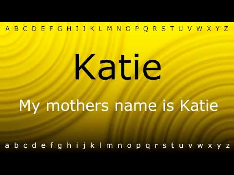 Here I will teach you how to pronounce 'Katie' with Zira.mp4