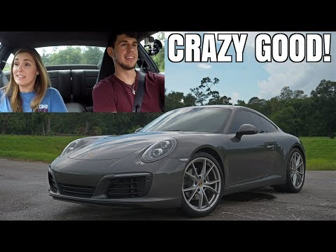 2017 Porsche 911 Carrera Review with my Fiancé (SUPER Impressive!)