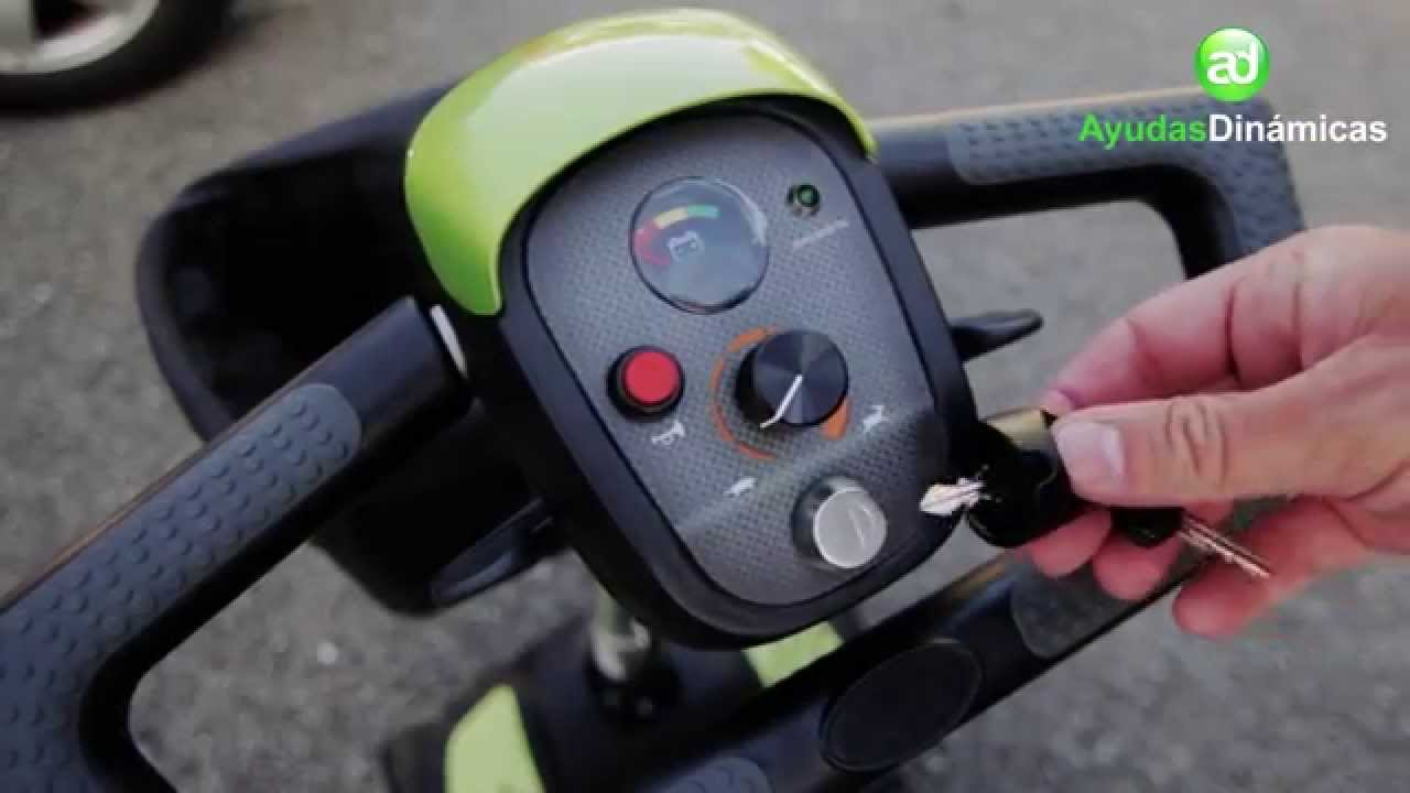 Scooter portatil y desmontable eclipse ayudas din micas for Portatil desmontable
