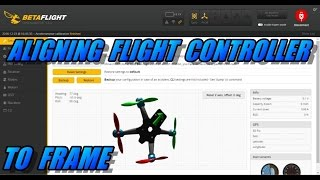 How To Align Flİght Controller To Frame