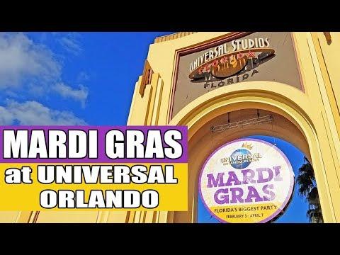 Universal Orlando Mardi Gras 2018