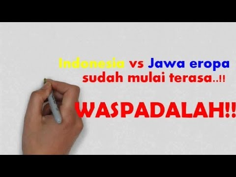Indonesia Vs Jawa Eropa