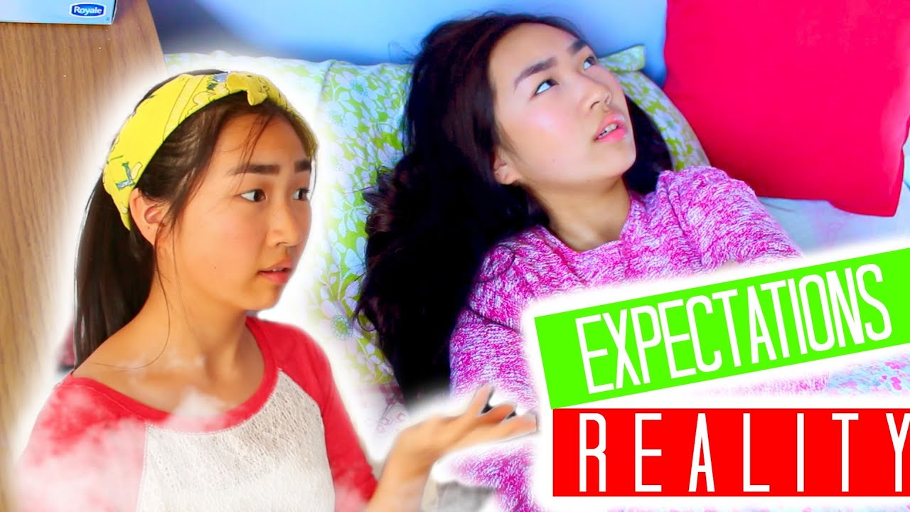 Winter morning routine expectations vs reality youtube