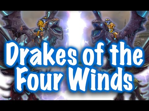 Jessiehealz - Drakes Of The Four Winds Mount Guide (World Of Warcraft)