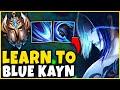 #1 KAYN WORLD WIN IN 15! LEARN TO PLAY KAYN - League of Legends