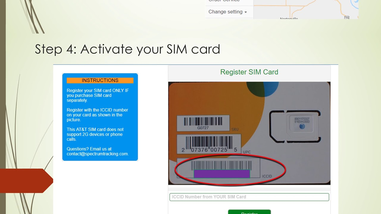 How to activate sim card in idea Smart Ret
