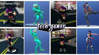 FORTNITE DANCES IN ROBLOX?! -Tech Gamer Offiziell
