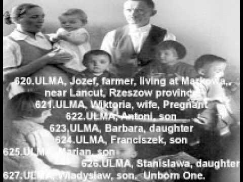 "705 Polish Righteous were killed for helping Jews ""L"""