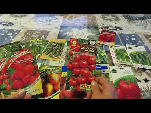 Обзор семян томатов на 2020 г, что посеем снова,видео с результатом,немного об огурцах