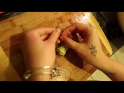canh bắp cải cuộn tôm thịt - by be iu