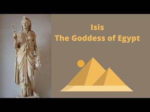 Isis: The Healer Goddess Of Egypt | Egyptian Mythology (1)