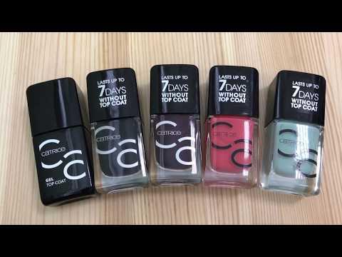 Catrice лак для ногтей iconails gel lacquer