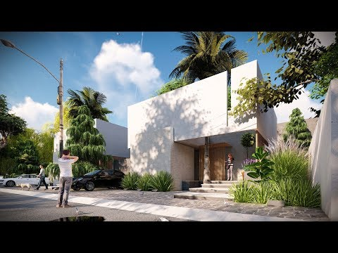 LUMION 8 RENDERING TUTORIALS #1 HOUSE