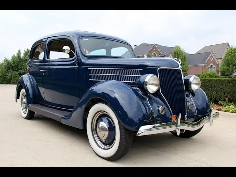 1936 ford 2dr humpback sedan for sale on ebay doovi for 1937 ford 4 door humpback