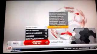 FIFA 13 bug menu principal!!